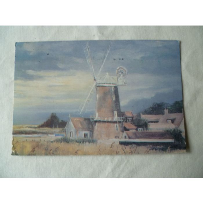 Cley Mill Oil Painting Shirley Carnt 1996 Used Colour Barnwell Postcard Art On Ebid United Kingdom 189951036 In 2020 Postcard Art Painting Art