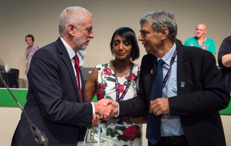 We have been with Jeremy when times were tough and we will be with him in the years ahead. So when the next election comes, which may not be too far off, we will be ready to fight for him and for a different vision of our country again – because his agenda is our agenda.
