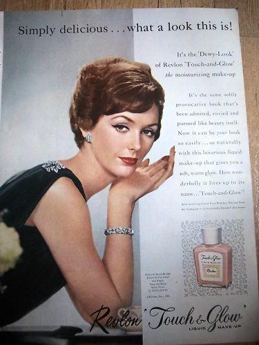 1961 Revlon Makeup Van Cleef Arpels Jewelry Ad | eBay