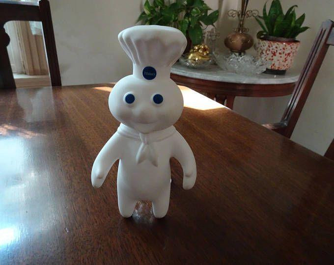 Poppin Fresh Doll, Pillsbury Doll, Poppin Fresh Dough Boy, Pillsbury Dough Boy, Vinyl Poppin Fresh, Poppin Gresh Doll, Vintage Dough Boy