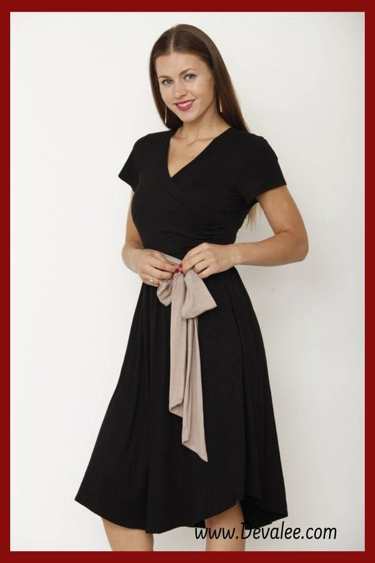 83311a81cb1 Get Free USA shipping on this black dress! Wear it casual or wear it more