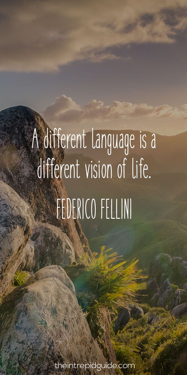 Language learning Tips - inspirations language learning quote