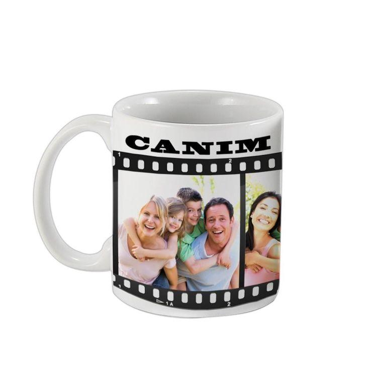 Canım Ailem Film Şeridi Çay-Kahve Kupası