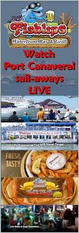 Port Canaveral Webcam Fishlips Waterfront Bar & Grill