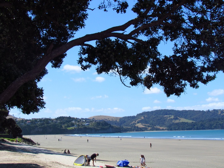 Orewa Beach, Auckland, New Zealand