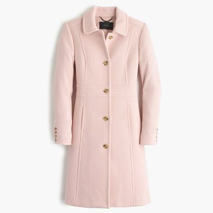 "The last layer should make a great first impression: this flattering, feminine coat is cut from our signature double-cloth wool, which we've used in our collection every single year since 2001. It takes color beautifully and is made exclusively for us by Italy's Manifattura di Carmignano mill (known the world over for its exceptional woolen fabrics). Tailored for a fitted look.Body length: 35 1/2"". Sleeve length: 30 5/8"". Hits at midthigh. Italian woo..."
