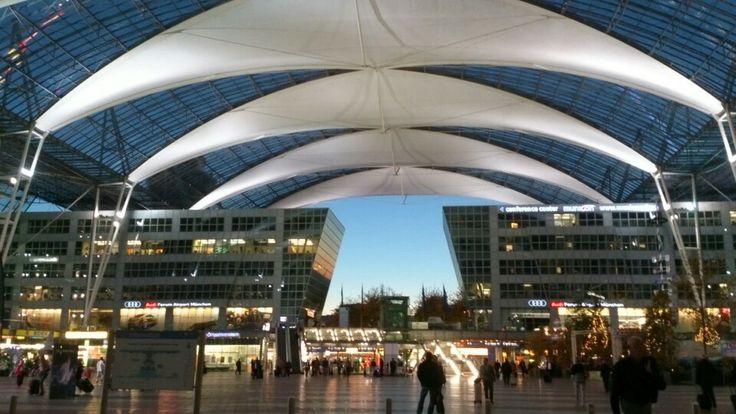 """Arrival- München Flughafen """"Franz Josef Strauß"""" (MUC)"""