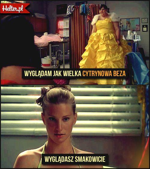 Cytaty Filmowe z Serialu Glee - :: HELTER #glee #gleeclub #gleepolska #cytaty #film #kino #cytatyfilmowe #popolsku #helter #polskie #śmieszne