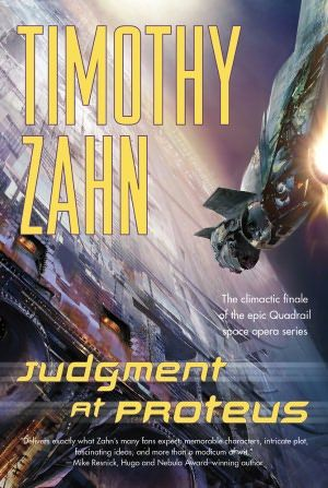 New 6/8/12. Judgment at Proteus by Timothy Zahn. SF ZAH. In a star-spanning thriller of breathtaking suspense and nonstop action, Timothy Zahn has crafted a memorable story that will thrill science fiction readers.