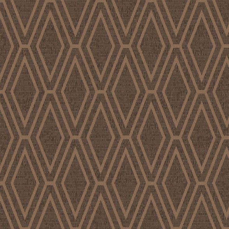 Opulent Shimmer Diamond Geometric Wallpaper - Copper and Chocolate - Holden Decor 65380