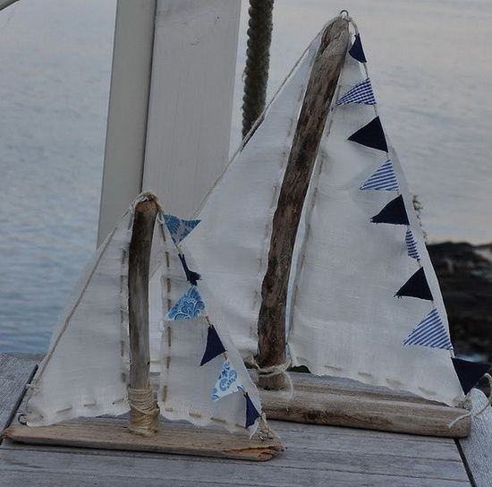 1000 images about driftwood boats on pinterest for Diy driftwood sailboat