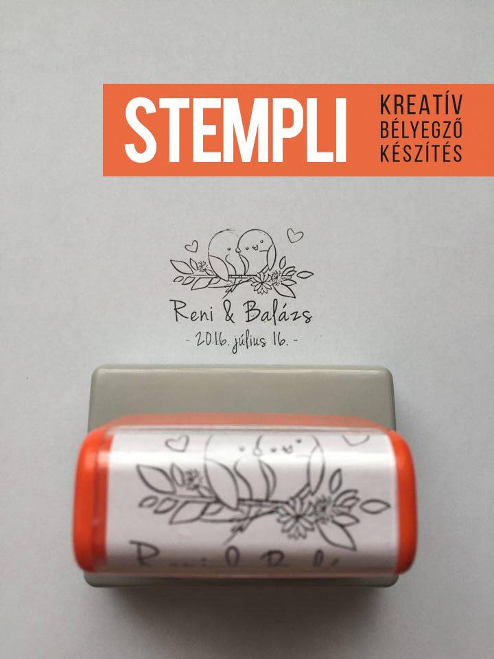 Ha kreatív meghívókat szeretnétek, dekorálhatjátok bélyegzővel is. írjatok bátran!  Egy újabb elkészült bélyegző. Sok boldogságot kívánunk! http://www.kreativstempli.hu/galeria/#!