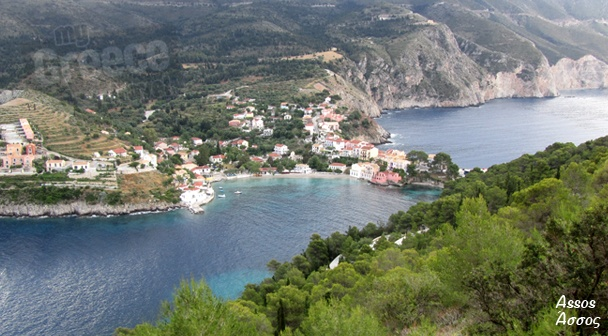 The Assos Village in Kefalonia by www.kefalonia-tours.com