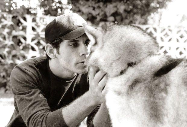 A-list celebrities and their pets: Ben Stiller and Ellie and Alaskan Huskie