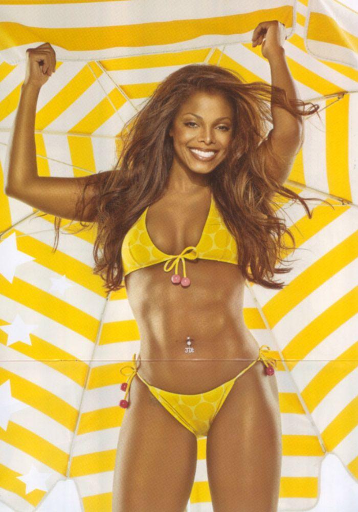 Janet jackson en bikini