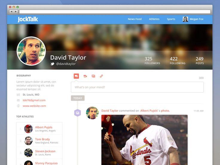 Fan Profile Page by Megan Fox