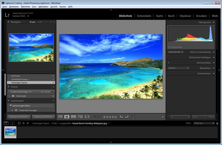 Adobe Photoshop Lightroom CC - Download - CHIP
