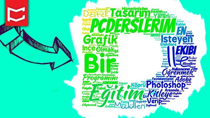 Tipografi, Yazı Fontları ile Metin Efekti Eğitimi [Photoshop Dersleri]