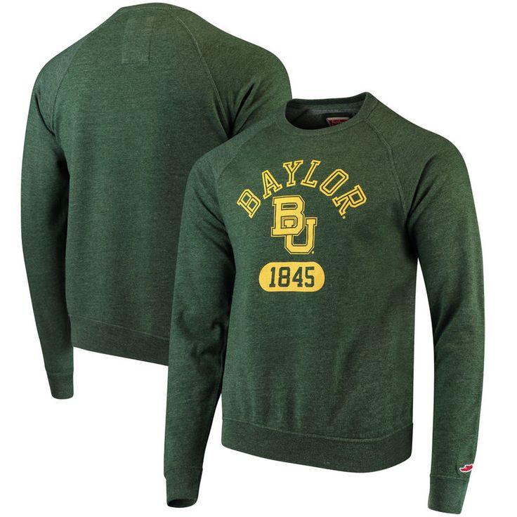 Baylor Bears League Heritage Tri-Blend Sweatshirt - Green