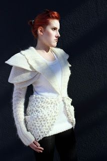 spaced out knitted dress. (Photo: Cecilia Sandhu)