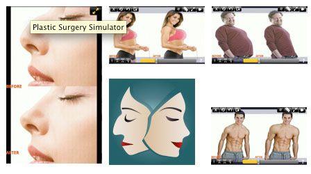 Modifica fotos de tu cara y cuerpo con un Simulador de Cirugía Plástica para Android | Aplicaciones Médicas Android, iPhone, iPad | Tecnología Médica y Salud |