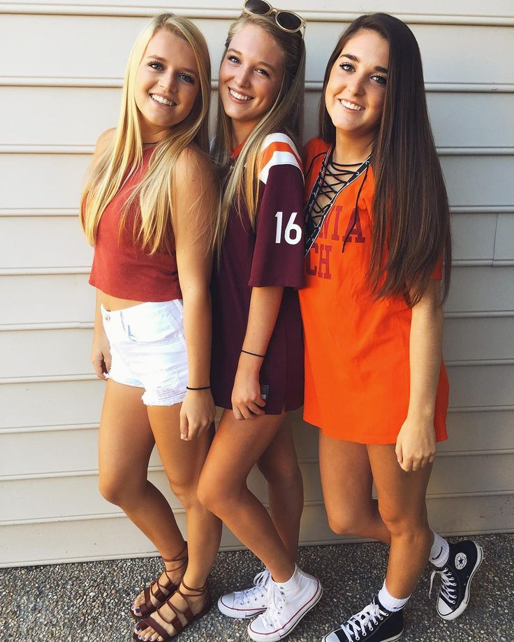 VT Game Day • ☽ pinterest // ddanielleexe ☾