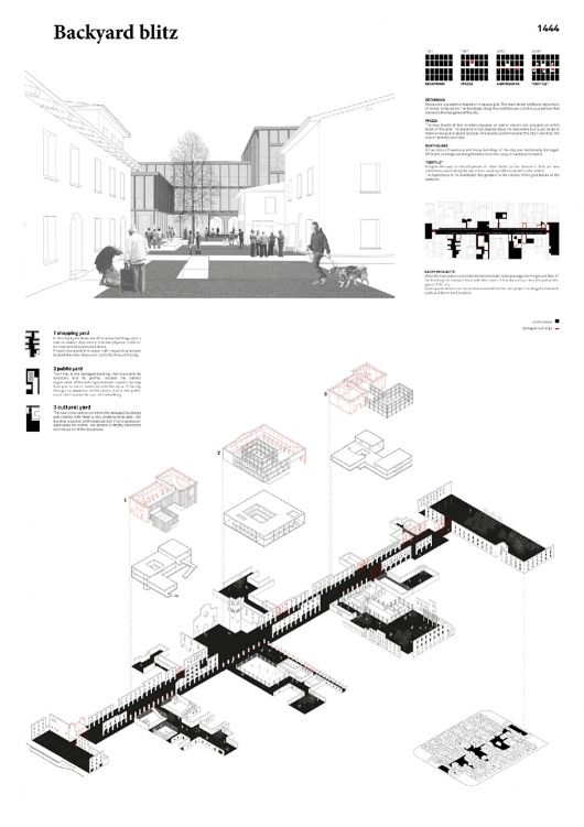3rd Prize winner: Neves Lopes Architects Team: Fabio Ferreira Neves, Paulo Lopes