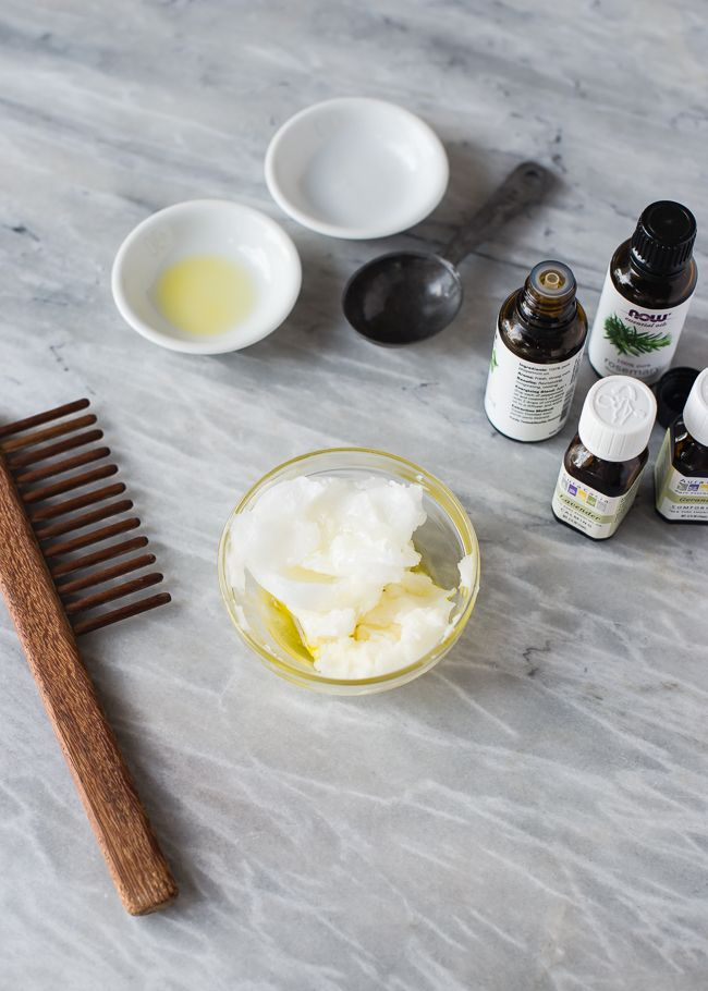 DIY Deep Hair Conditioner with Coconut Oil, Shea Butter + Argan Oil | HelloNatural.co
