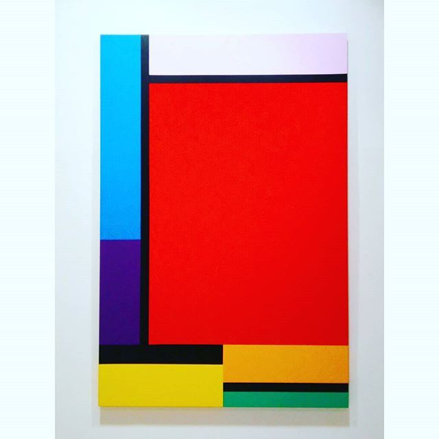 BAK Imre: Constructive Deconstruction, 2015 #budapest #exhibition #fineart #hungarianartist #hungarianart #bakimre #imrebak #oilpainting #oilpaintoncanvas #deakerikagaleria #deakerikagallery #hardedge #constructivism #deconstruction #artabstrait #abstractart #colorful ##ig_magyarorszag #ig_artistry #ilovebudapest #contenporaryart #artcontemporain #museumlover #artlovers