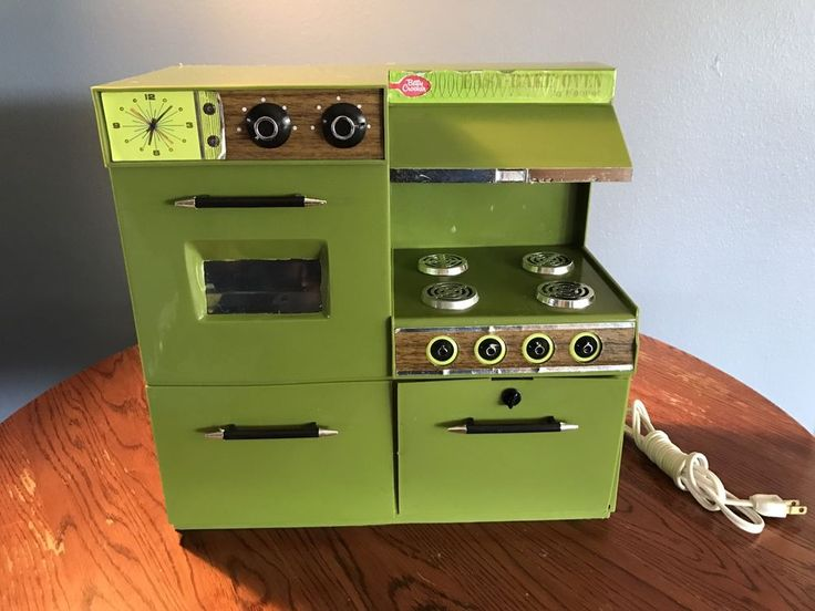 1969 Kenner Retro Avocado Green Easy Bake Oven MidCentury Vintage | eBay