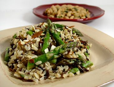 Weight Watchers Recipes With Points Plus - Low Calorie Recipes Online - LaaLoosh  Wild rice and asparagus