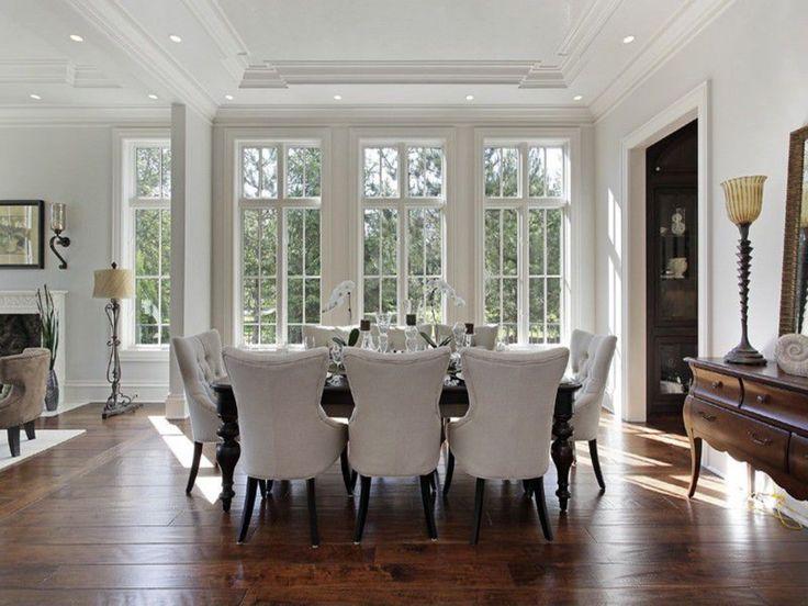 dining room italian villa in glencoe il custom built by tara designer homes featuring - Design Homes Inc