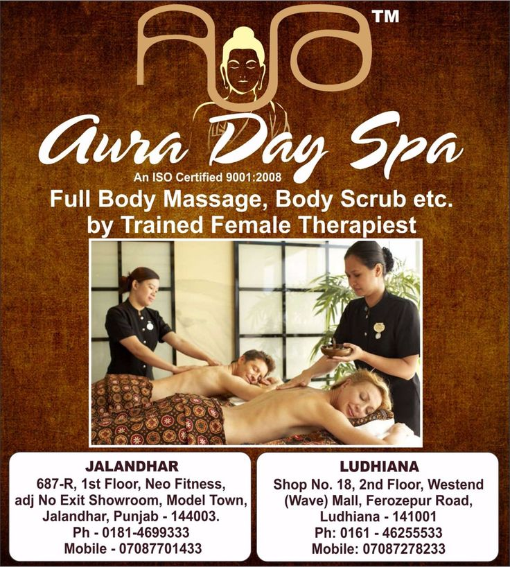 #auradayspa #fullbodymassage by a well trained Female therapist will help you in healing your body and relax your mind and body. #Jalandhar #Punjab #Ferozepurroad, #Ludhiana, Punjab