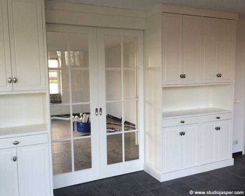 Kasten en suite in Waddinxveen door Studio Jasper Interieurontwerp & Meubelmakerij