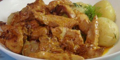 Niesamowite piersi kurczaka z sosem śmietanowym |  NashaKuhnia.Ru