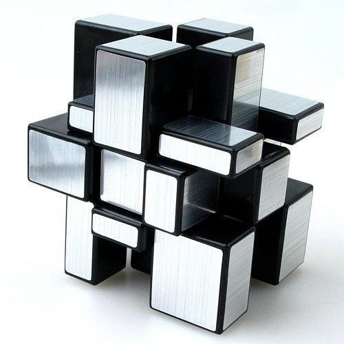Magic Cube Professional 3x3x3 Puzzle Educational Toys Classic Rubik Cube Silver