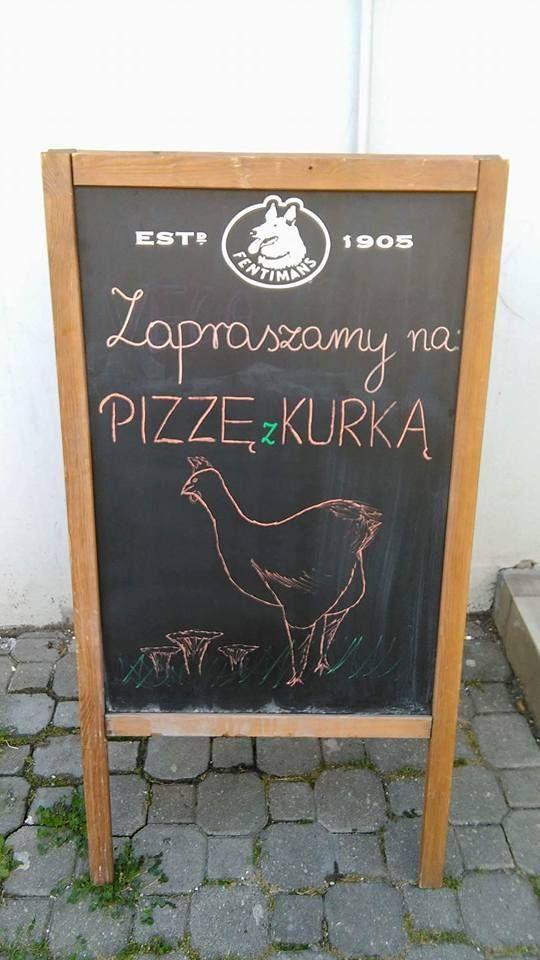 Pizza z kurką
