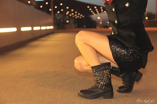 ZETA Biker Boots/ www.stylowebuty.pl
