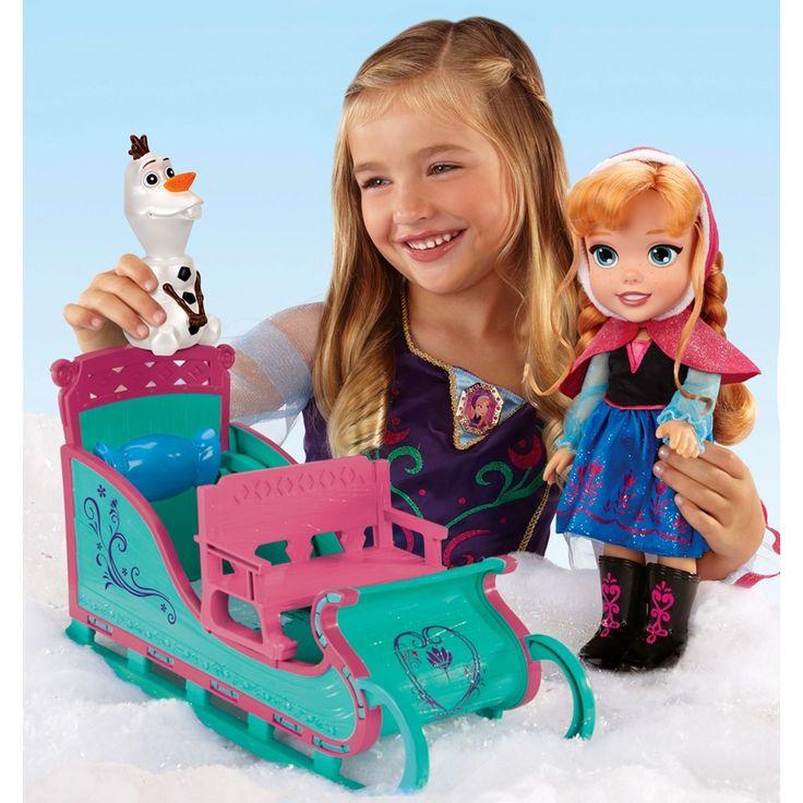 Anna's Disney Frozen Adventure Sleigh Set