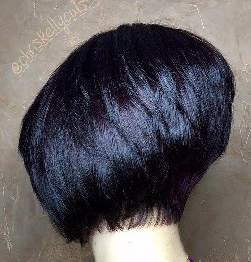40 Short Bob Hairstyles: Layered, Stacked, Wavy and Angled ...