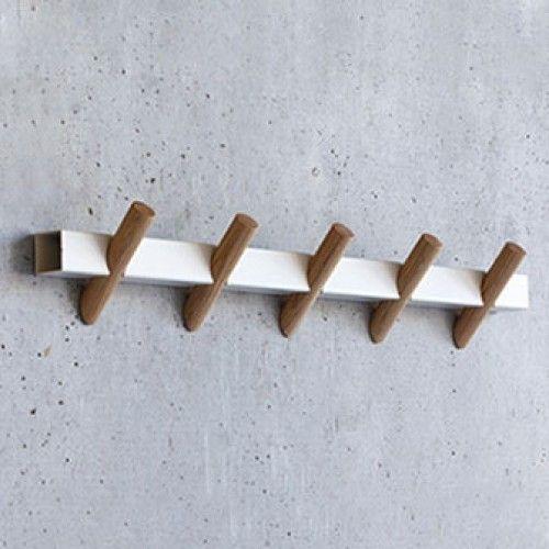 crosscut coat hooks - Stylish Wall Hooks