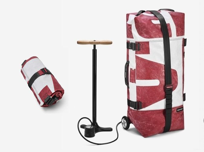 Freitag Zippelin luggage on Collaboration Generation – the latest and best in brand innovation