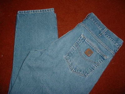 CARHART  JEANS  MEN'S  SZ  36x30  GREAT
