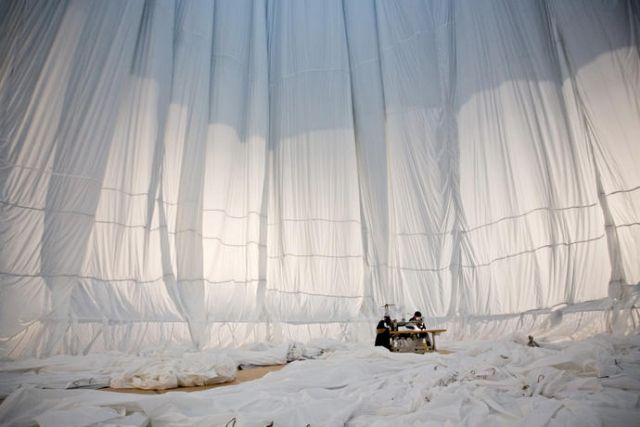Check out Christo's latest installation