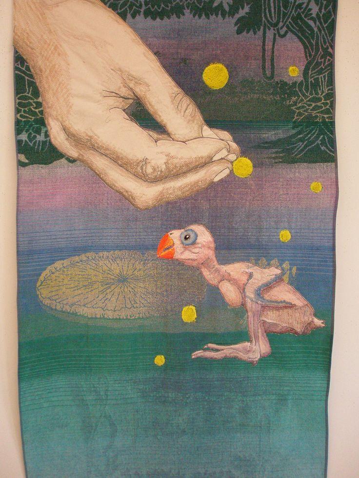 And God Created the Parrot www.petravandersteen.nl