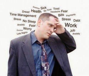 Saúde masculina e stress... #focoemvidasaudavel
