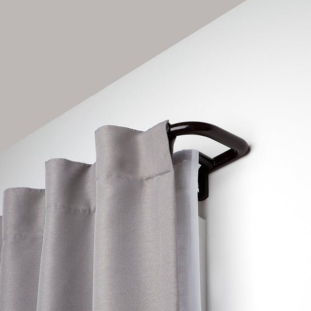 This Affordable Purchase Can Actually Help You Sleep Better Double Rod Curtains Double Curtains Double Curtain Rod Set
