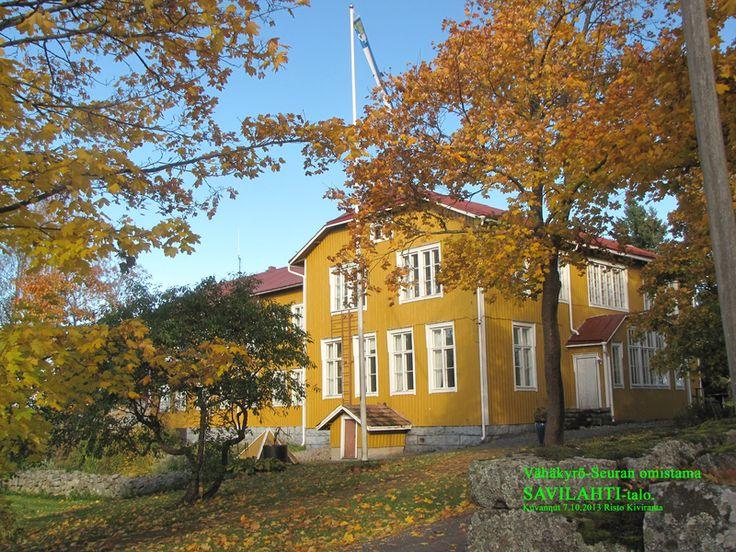 Savilahti-talo Vähäkyrö.