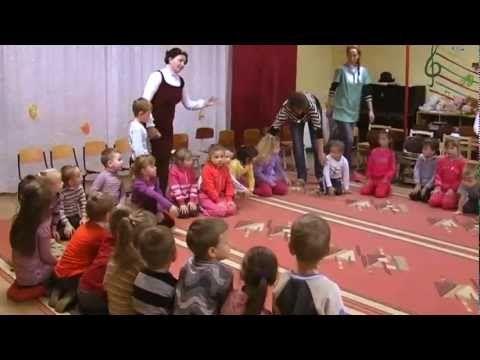 Táncóra ovisoknak - YouTube