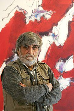 Guillermo Núñez, pintor chileno. Premio Nacional de Arte.